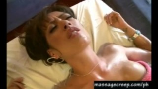 Pervert masseuse bangs hottie Big subtitled