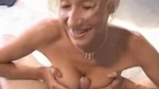 And gives titfuck bj a blonde bombshell job homemade
