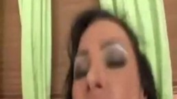 Julia Bond's fantastic ass gets covered in cum