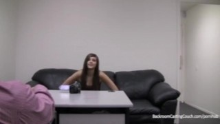 Fucked job no ass creampied audition hclip