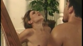 Sexy girl gets deep hammered on stairs Compilation hung