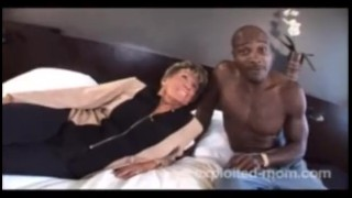 76 Year Old Granny Fucks Blacks Interracial big