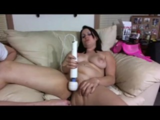 Lelu Love-Vibrator And Anal Beads HARD Orgasm