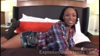 Real nasty in ebony gets anal scene sclip ass