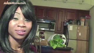 Adora Moore-First Official Video Striptease porno