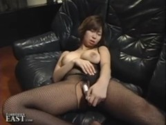 Uncensorded Japanese Solo Girl Dildo Masturbation