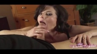 A Blowjob by Veronica Avluv For My Biggest Fan