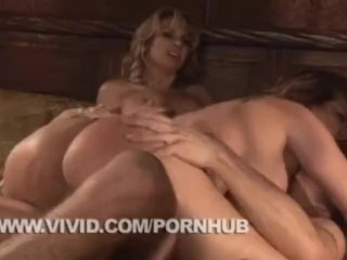 Amatuer Milf Deepthroat Fucking, SavannA Samson In FFM action Big Tits Pornstar Threesome
