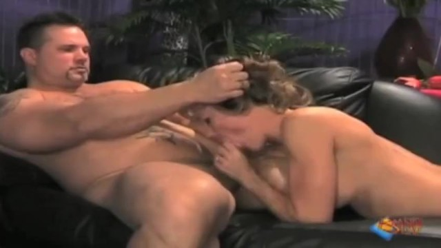Brandi Love Sucking Cock