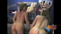 Brandi Love and Jennifer Get Naughty in Boys Dorm