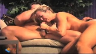 Vip brandi in love customer blows dance tits