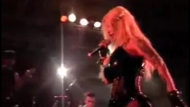 Breast prothesis silicon in miami Sabrina sabrok celeb punk singer with biggest breast, live show