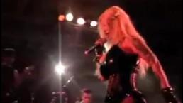 Sabrina Sabrok celeb Punk Singer with biggest breast, live show