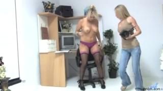 Sexy milf secretary housewife Homemade strip