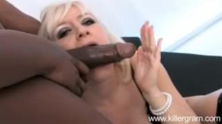 Karlie Simone sucks and fucks Shafts big black cock Pornstar panties