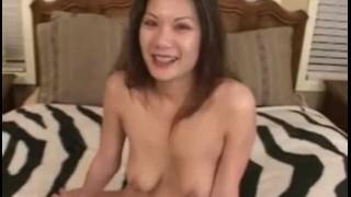 Cute asian cock sucker Fucked fuck