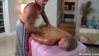 Massage For Blondie Cock wank