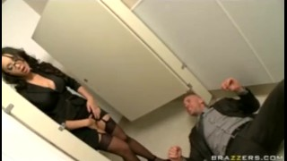 Asian caught in big stocking masturbating tit heels slut office big boob