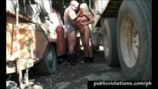 Truck Stop Banging Milf