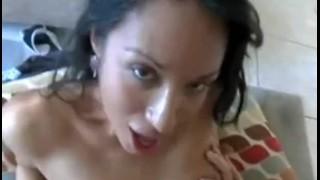 Hot latina chick getting really fucked hard