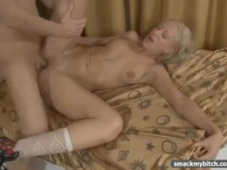 Wife fucked by husband fucking sex doll big boobs adult toys blonde fake tits solo german hu