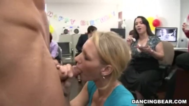 Adult theme party cake Hot office babes love cake cock
