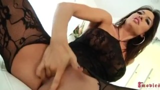 Franceska Jaimes Has Her Tight Holes Stuffed