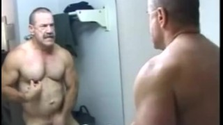 Mature Gay Bear Playing with Himself