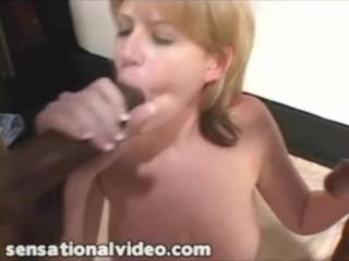 Preview 3 of Huge Tit MILF BBW Lisa Sparxxx Takes on 2 Big Black Cocks