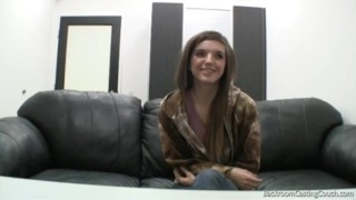 Barely Legal Casting Solo striptease