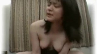 Asian schoolgirl having wild intercourse