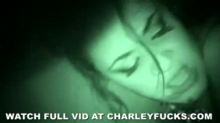 Charley's Night Vision Amateur Sex Big blowjob