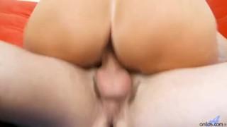 Mature cougar sucking stiff young cock