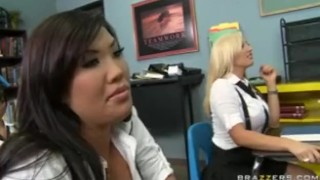 HOT BIG TIT ASIAN COLLEGE SCHOOL GIRLS THREESOME FUCK WITH TEACHE  college asian brazzers young 18 deep-throat japanese school daughter bclip tight uniform orgasm teenager big tit