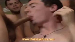 He wants to swallow our cocks Cock young