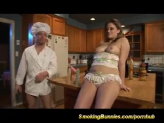Lovely Stepsister Crack With Old Stepdad