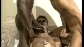 Hot threeway interracial interracial cock