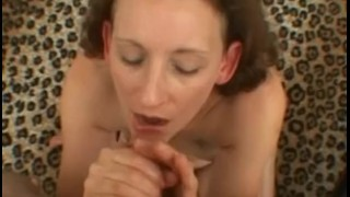 Hot milf in bed with a tiny cock