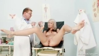 Blond vagina hot babe and examination enema exclusiveclub.com pussy