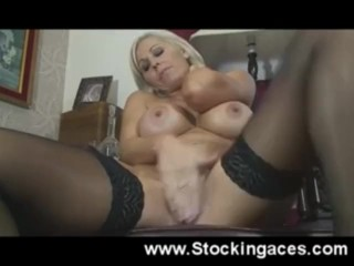 Jan Burton Hairy Pussy Playing
