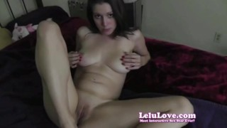 Lelu Love-Creampie Jerkoff Encouragement