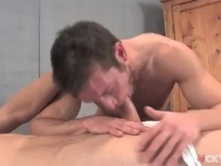 Kevin Crows and Alex Waters Massage