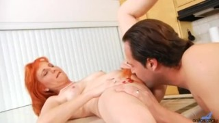Hairy firecrotch milf sucking cock Much big