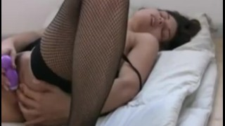 Steamy dildo play with Amber