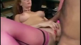 Audrey fucking in pink thigh h