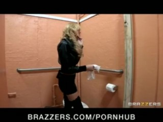 Sexy blonde slut is dominated with rough punishment by lesbian - Brazzers