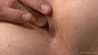 Creamy Squirt Action Playing dick