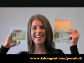 FakeAgent Medical student creampie casting