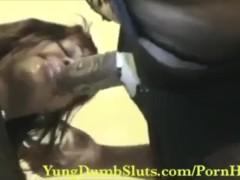 The WETTEST Blowjob ever! Slut suck it Good:)