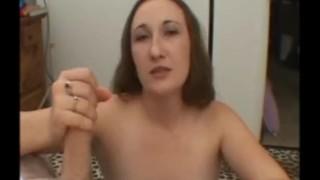 Bitch has great oral skills